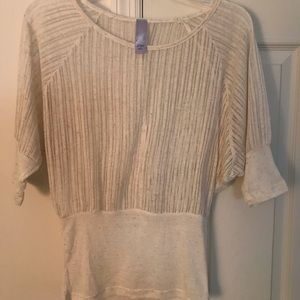 Short Sleeve Lacey Top